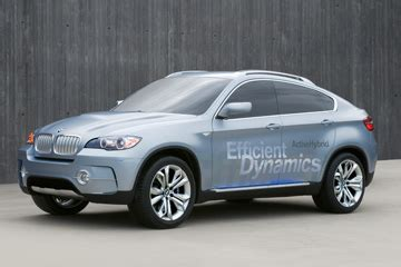 how the bmw x6 activehybrid works | howstuffworks