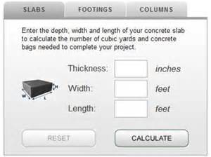 How much concrete calculator and tips for estimating the concrete