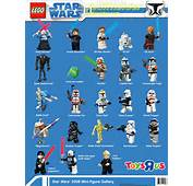 Lego 2008 Clone Wars Minifig Gallery From Toysrus By Jediinsidercom