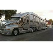 Kenworth T 2000  RV Trailer F Pinterest Luxe Caravanes Et