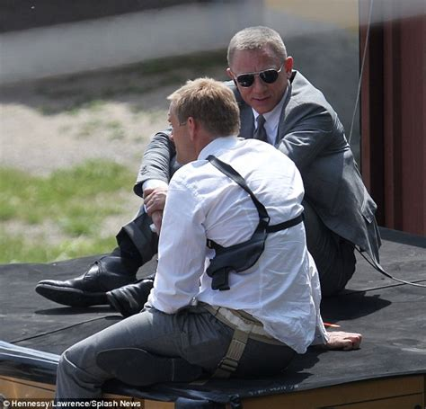 Daniel Craig Admits He Had To Use Stunt Doubles Packing Stunt Penises For His In New Bond by Skyfall Daniel Craig Dangerous Opening Of