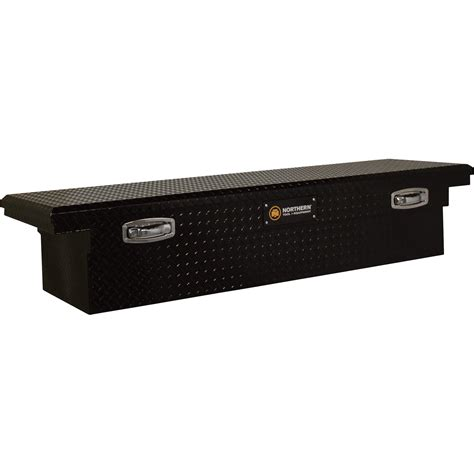 truck tool box northern tool equipment crossover low profile gloss black truck tool box aluminum 69in