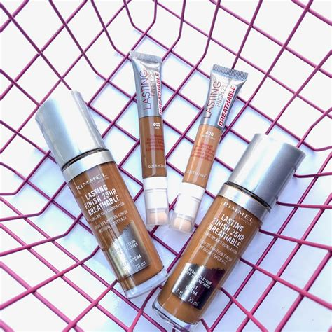 Rimmel Lasting Finish 25hr Foundation With Comfo Limited it s arkeedah source for all things fashion and