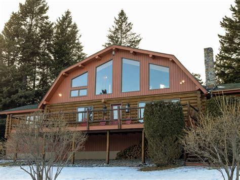 new log cabin homes log cabin living lake view cabin and woodsy retreat log