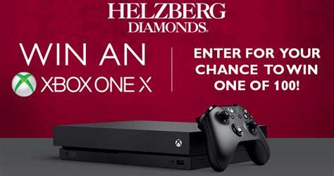Xbox Contest Giveaway - helzberg diamonds xbox one x sweepstakes win 1 of 100 xbox one x