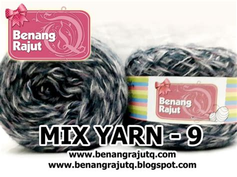 Benang Mix benang rajut limited mix fancy yarn 9 benangrajutq
