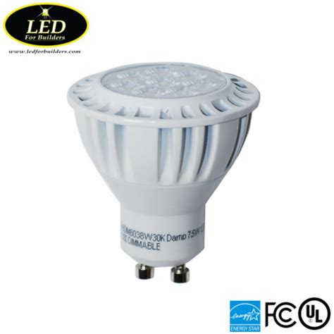 Lu Led 5 Watt Krypton led for buildersgreenlux high quality gu10 7 5 watt 3000k