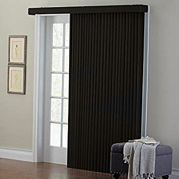 black l shades amazon amazon com brylanehome embossed vertical blinds black 42