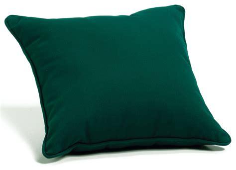 Sunbrella Outdoor Pillows And Cushions by Sunbrella Throw Pillow Green Sunbrellafabric