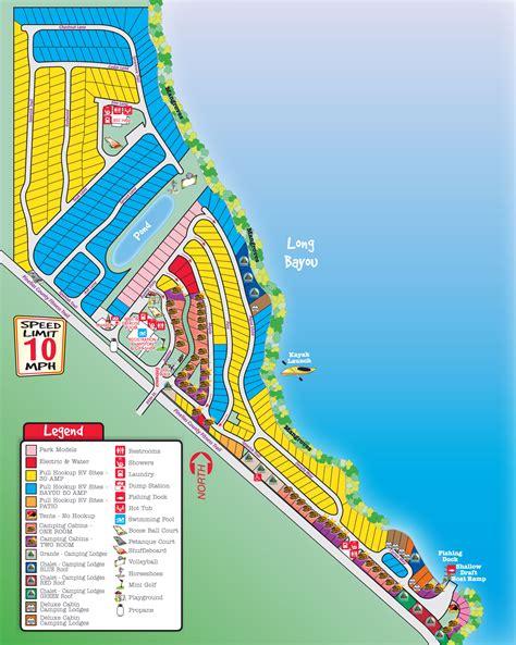 florida cground map st petersburg madeira koa csites start at 51
