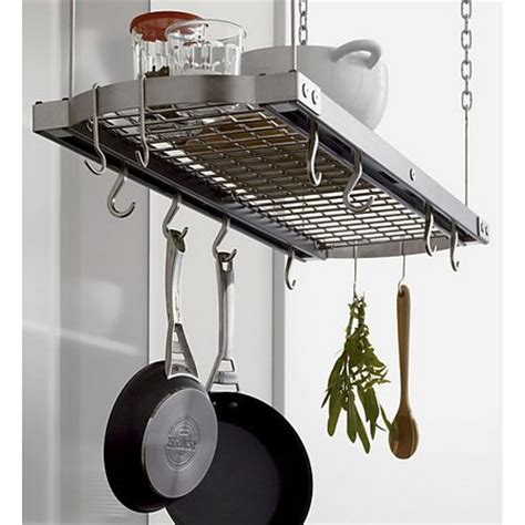 pot ceiling rack pot racks for improving your kitchen www nicespace me