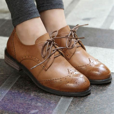 new 2015 vintage pu leather oxford shoes for fashion