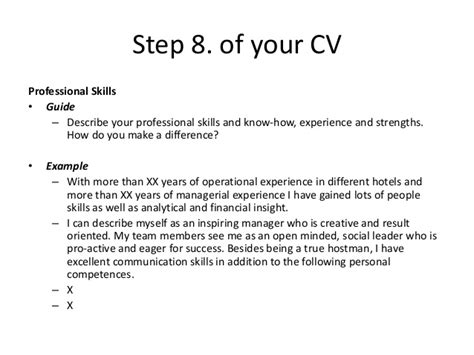 Describe Analytical Skills Resume by Courtesy Masters Cv Exle Create Your Effective Personal Cv