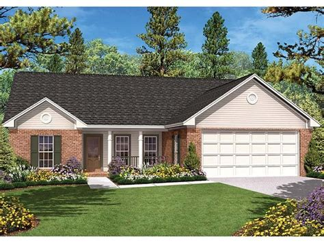 eplans ranch eplans ranch house plan spacious traditional ranch 1400