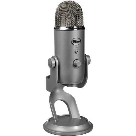 Usb Microphone blue yeti usb microphone silver yeti b h photo