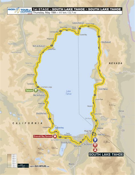 amgen thousand oaks cus map lake tahoe is on the 2016 amgen tour of california route