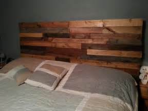 diy reclaimed pallet headboard pallet furniture diy