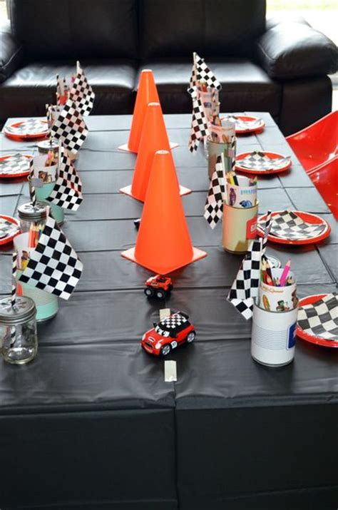 cing themed decorations 25 best ideas about race car birthday on car
