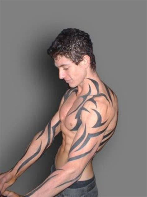 best tribal tattoos for men best designs for fashion club