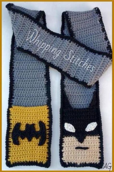 knitting pattern batman scarf batman scarf crochet and crafts pinterest