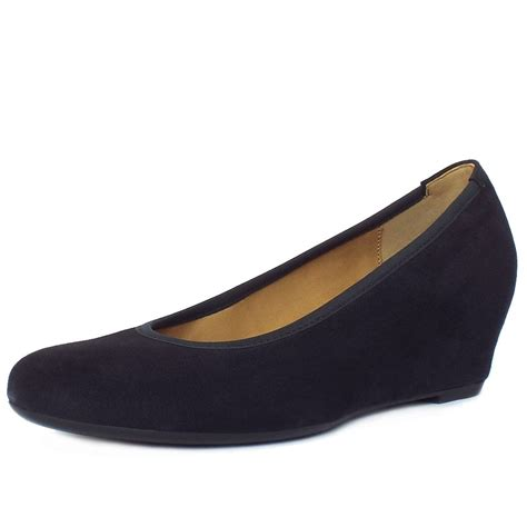 Wedge Pumps gabor shoes s comfortable wedge pumps in
