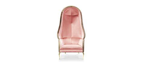 Pale Pink Velvet Upholstery Fabric Chair Drapesse By Koket