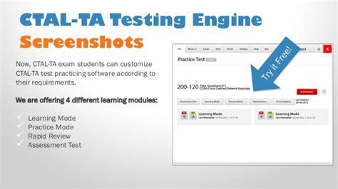 ctal ta pdf practice test free isqi ctal ta sle new