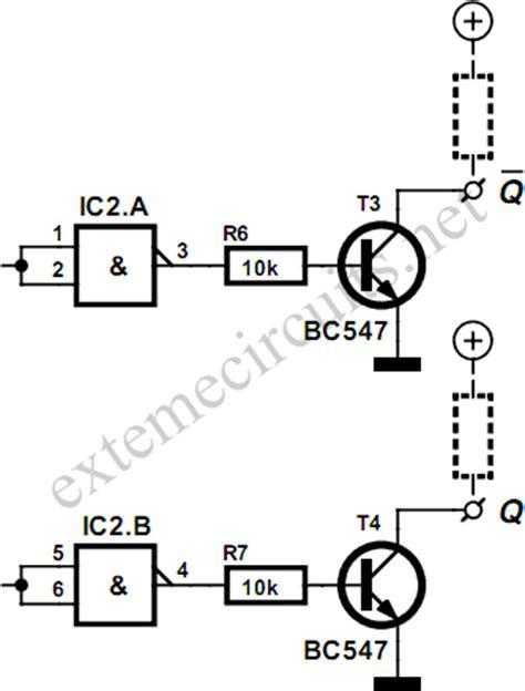 cmos nand gate circuit diagram flip flop using cmos nand gates circuit diagram