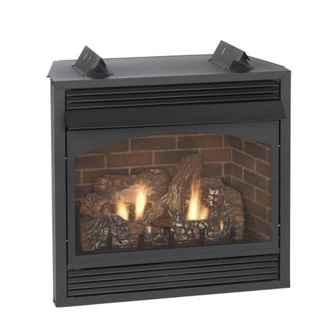 empire vail vent free propane fireplace with remote ready