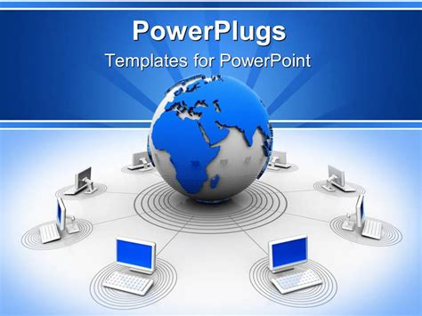 network templates for powerpoint free download powerpoint template worldwide web theme with globe giving
