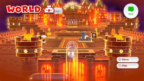 super mario 3d world guide world 8 all levels beaten super mario 3d world walkthrough 100 world 7 castle