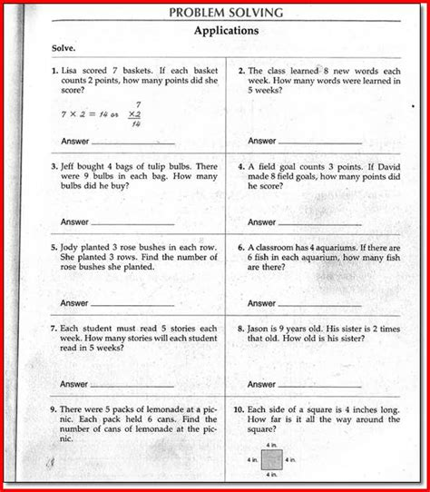 4th Grade Math Worksheets Pdf by Nursing Math Worksheets Vcc Lc Worksheets Nursing