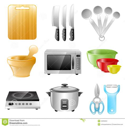 kitchen utensils cooking restaurant stock vector