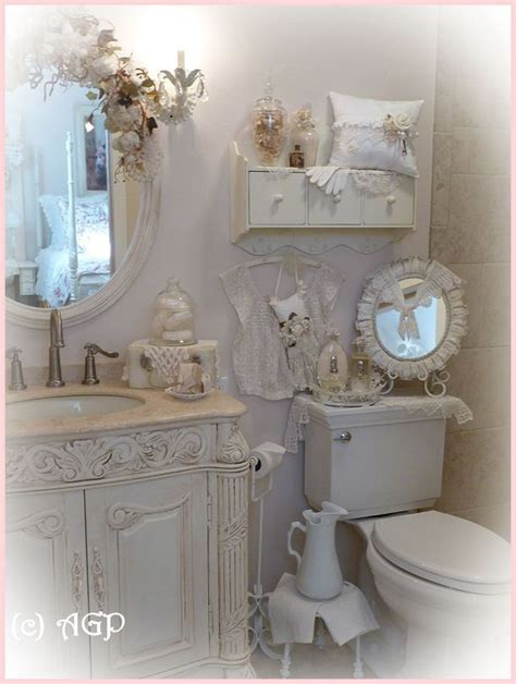 shabby chic small bathroom ideas shabby cottage chic shelf and more bathroom makeover pics