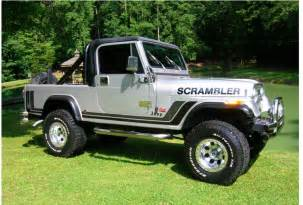 jeep with truck bed scrambler cj8 longer jeep with truck bed jeep cj 8
