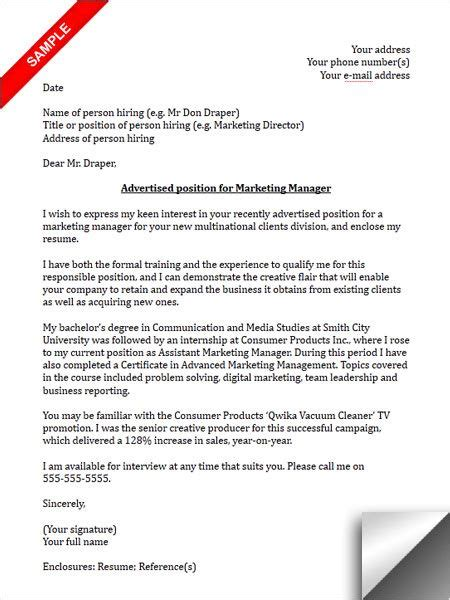 sports marketing resume cover letter coursework help