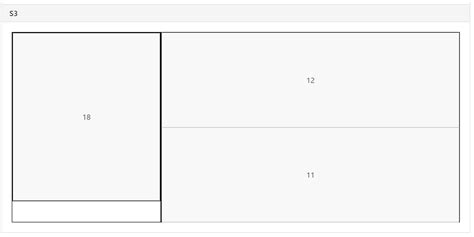 grid layout rowspan html 2 3 aspect ratio button grid with rowspan stack