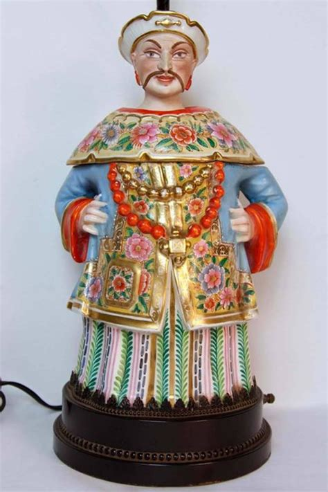 porcelain chinoiserie figural l circa 1800s for sale
