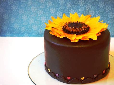 wolke kuchen selber machen sonnenblumen torte