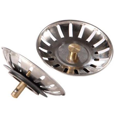 kitchen sink plugs uk 2 x stainless steel kitchen sink strainer waste plug