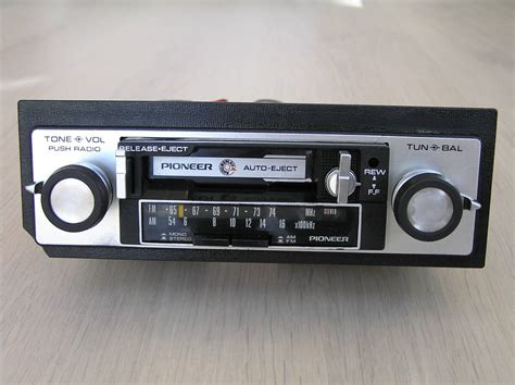 car stereo cassette vintage pioneer kp 2500a car stereo cassette player am fm