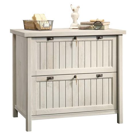 sauder lateral file sauder costa lateral file in chalked chestnut 420040