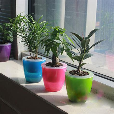 Self Watering Planters Uk by 2pcs Self Watering Flower Cup Garden Self Watering Flower