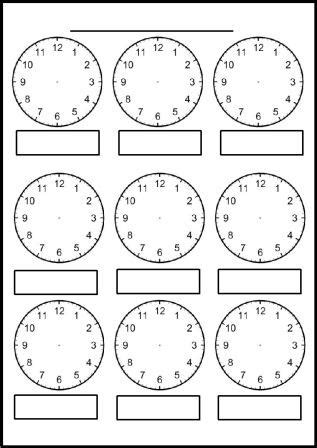 clock template ks1 free maths teaching resources shape space and measures