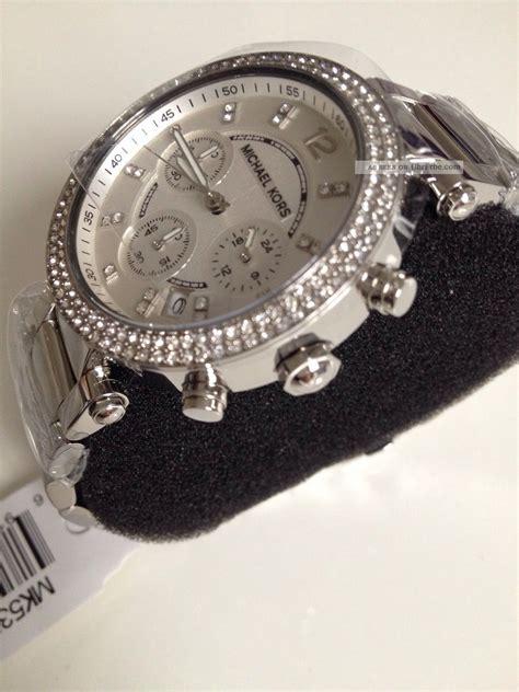 Michael Kors Uhr Silber Damen by Michael Kors Uhr Mk5353 Damen Chronograph Edelstahl Armbanduhr Car Interior Design