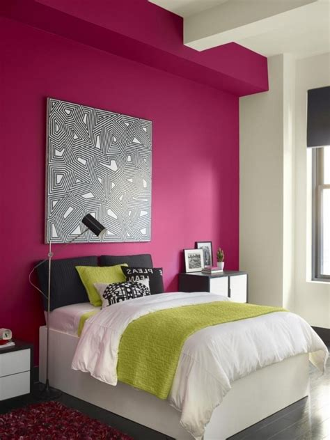 how to paint a room with two colors pink and white wall paint inspiration for stunning