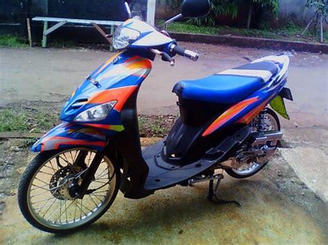 Mio Sporty 2011 Biru modif motor mio sporty warna biru modifikasi motor kawasaki honda yamaha