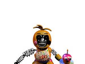 Dismantled toy chica fnaf2 fanmade fake by freddyfredbear on