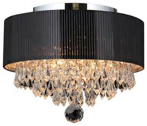 Ceiling Flush Chandeliers Gatsby 3 Light Flush Mount Ceiling Light With