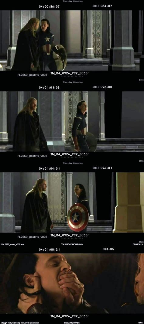 thor movie clips and behind the scenes footage collider loki plays captain america in thor the dark world